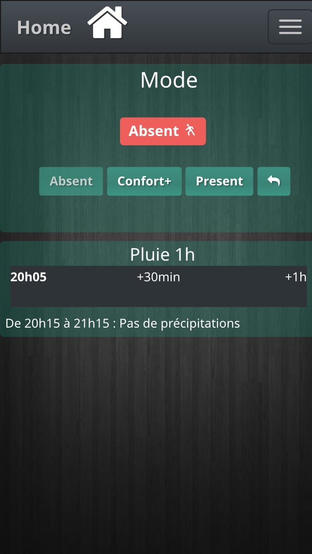 application android pour jeedom