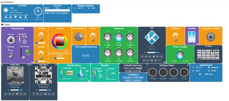 logiciel jeedom zwave domotique objets connectés